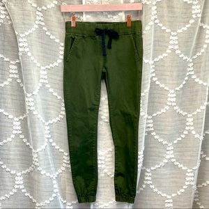 VIP olive green joggers size 3/4
